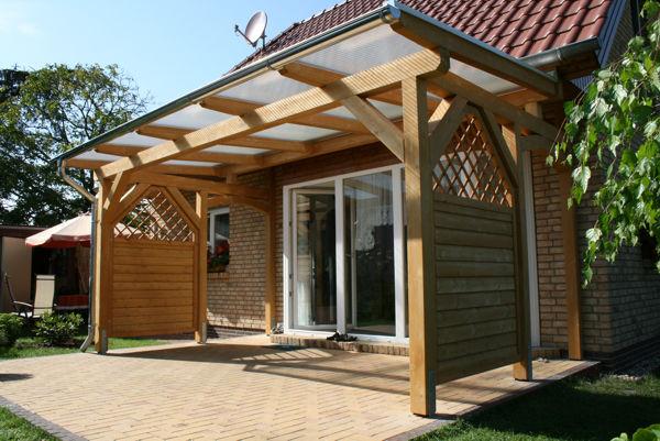 TerrassenUberdachung Holz Weis ~ Terrassendach  Terrassendächer aus Holz vom Holzbau Fachmann