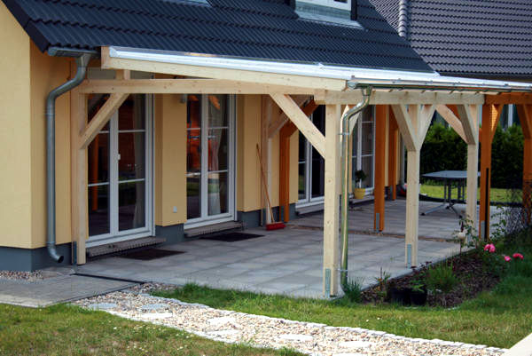 Individuelle TerrassenUberdachung Holz ~ individuelle Terrassenüberdachung aus Holz vom Holzbau Fachmann